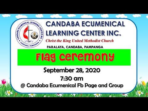 Flag Ceremony September 28, 2020