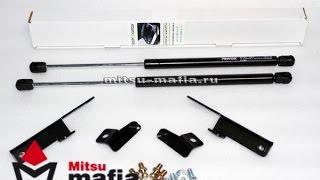 Упоры (амортизаторы) капота Mitsubishi Lancer X (Митсубиси Лансер 10)
