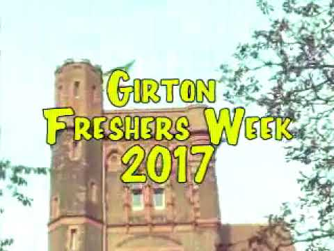 Girton College Freshers Week 2017 Intro Video