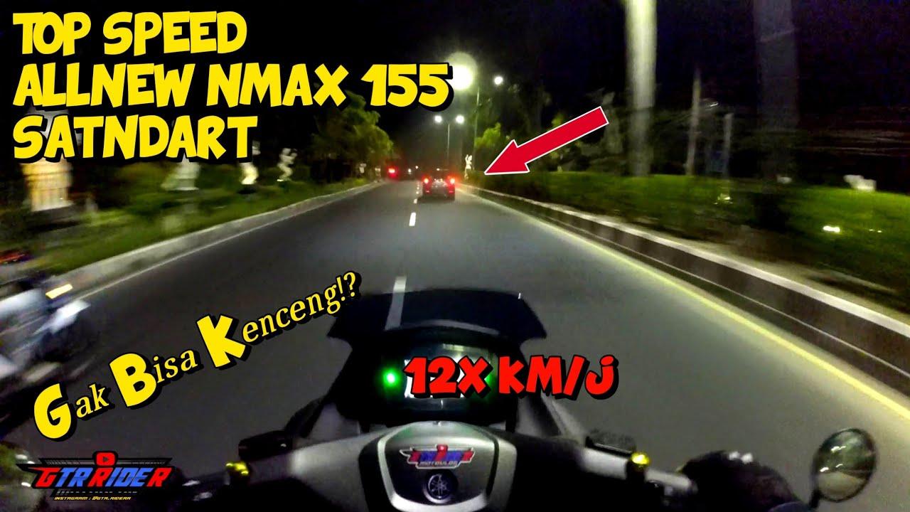 NR Kuy!! Test top speed allnew nmax 155  - Motovlog indonesia