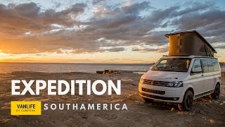 Adventure Van Life Expedition in Southamerica with a 4x4 VW Bus world trip -camperX
