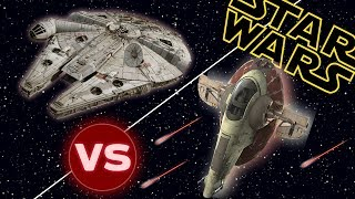 Slave I vs the Millennium Falcon   Star Wars: Who Would Win