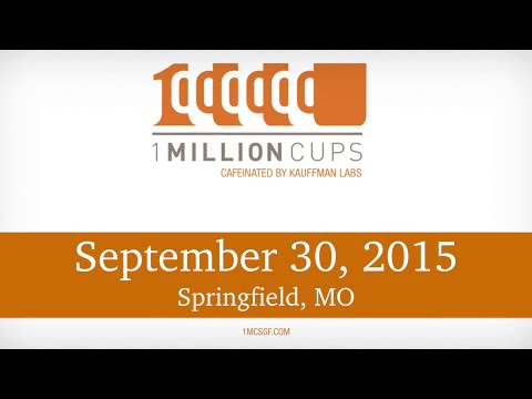 1 Million Cups--Springfield--21 Visions & Interactive Dynamics Sep 30, 2015