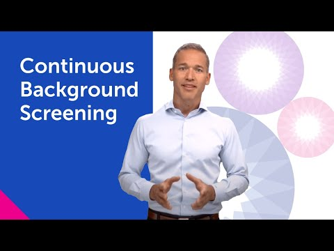 Continuous Background Screening