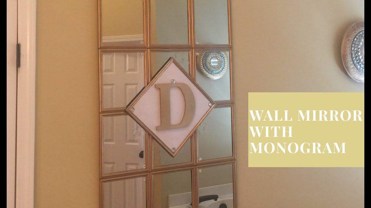 framed mirrors diy
