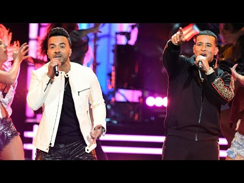 Luis Fonsi and Daddy Yankee Electrify the GRAMMYs With 'Despacito' Performance