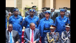 President Uhuru Kenyatta makes major changes in police