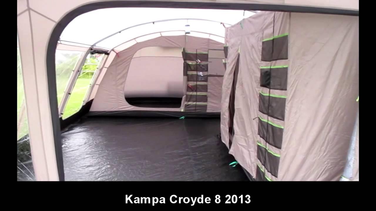 & Kampa Croyde 8 - YouTube
