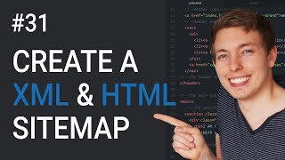 31: How to Create an XML Sitemap | Register a Sitemap with Google | Learn HTML & CSS | HTML Tutorial
