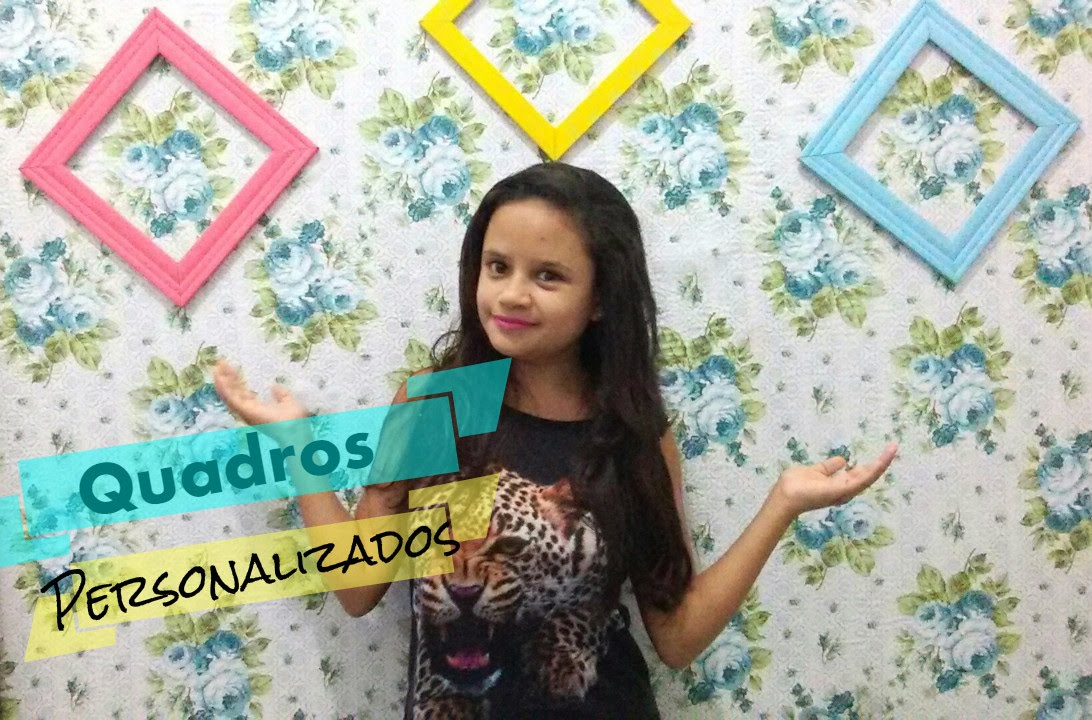 DIY: Quadros coloridos! - YouTube