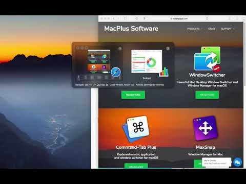 Window Managment in WindowSwitcher for Mac