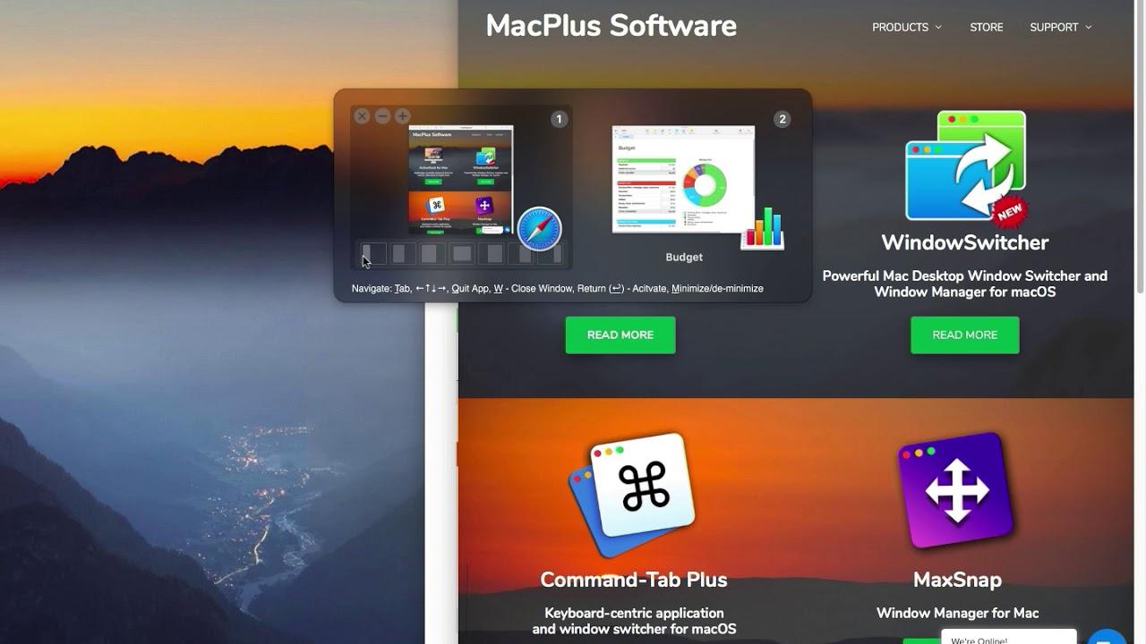 WindowSwitcher Powerful Mac Desktop Window Switcher and