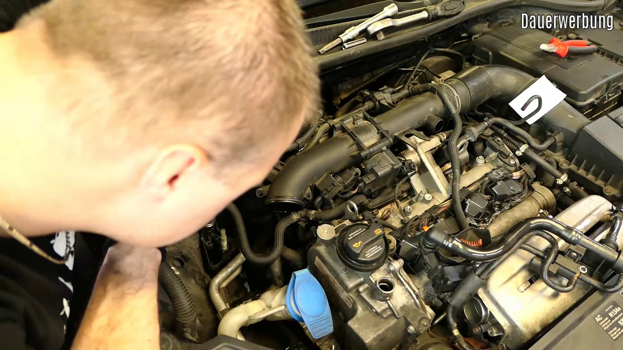 Vw 1 4 Tsi Timing Chain Replace Full Video Blg Engine