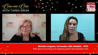 Michelle Longmire, Medable – 2020 PharmaVOICE 100 Celebration