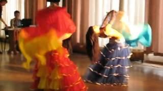 Восточный танец шоу Ракова  Ирина Одноклубова Анастасия