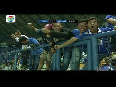 Duel Raksasa Biru: Gol Airlangga Sutjipto Persib Bandung (2) vs Arema FC (1)