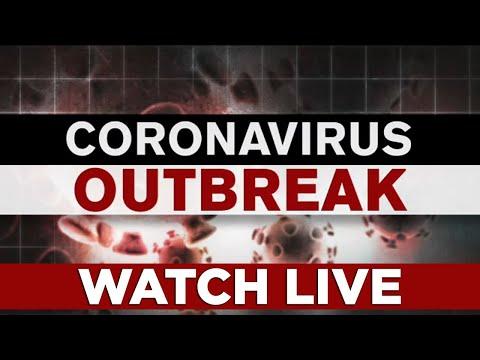 Jersey City mayor gives coronavirus briefing