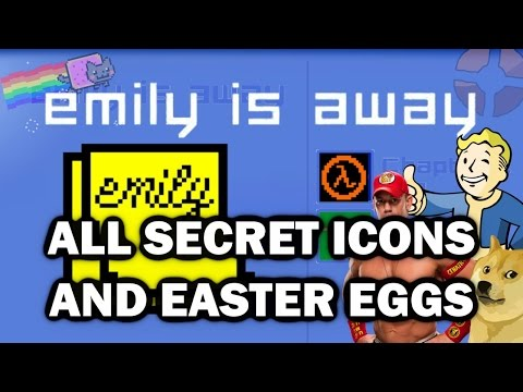 Emily Is Away All Easter Eggs And Secret Icons HD