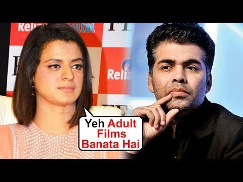 Rangoli Chandel ACCUSES Karan Johar Of Making ADULT MOVIES | Shocking RELEVATION Mp3