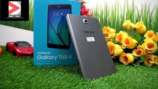 Samsung Galaxy Tab A 8 inch Review Unboxing OTG test, Camera, Gaming