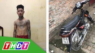 Bắt thanh niên xăm trổ tông gục cảnh sát giao thông trên đường | THDT