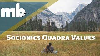 Quadra Values of Socionics