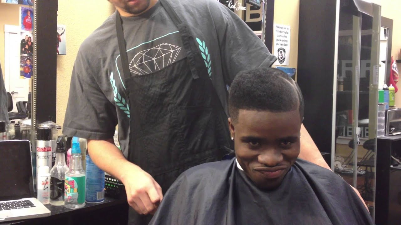 DJ Taber Slope Haircut Freestyle - YouTube