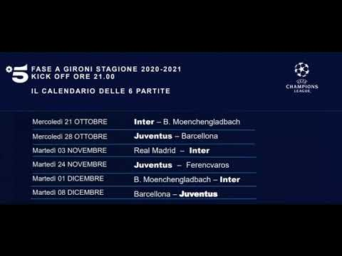 Calendario Uefa Champions League 2021 Mediaset UEFA Europa League 2020/2021 Promo TV8 Real Sociedad   Napoli