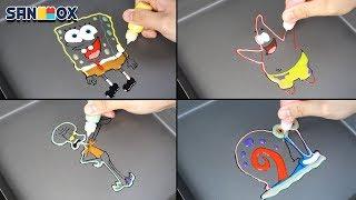 Download lagu Spongebob characters Pancake art MP3