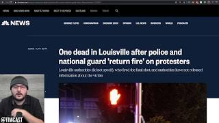 Armed Leftists Shoot At Conservative Journalists House, Nat Guard And Police Shoot And Kill Rioter