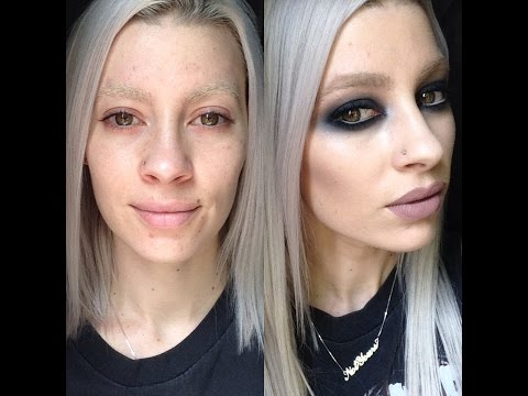 Grunge Black Smokey Eye | Taylor Momsen Inspired Makeup