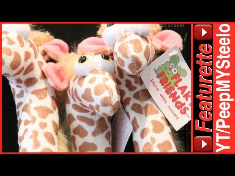 Giraffe Stuffed Animal Plush Toys For Baby & Toddler Presents Or Gift Toy Bags W/ Other Animals