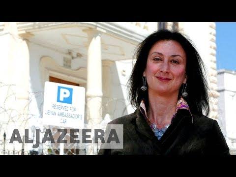 """Son of slain anti-corruption journalist calls Malta a """"mafia state"""""""