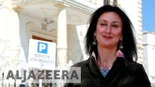 Son of slain anti-corruption journalist calls Malta a