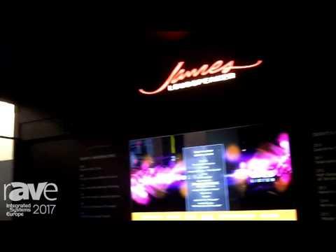 ISE 2017: James Loudspeaker Demos Modular Theater System
