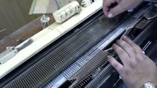 Круглая горловина-knitting machine