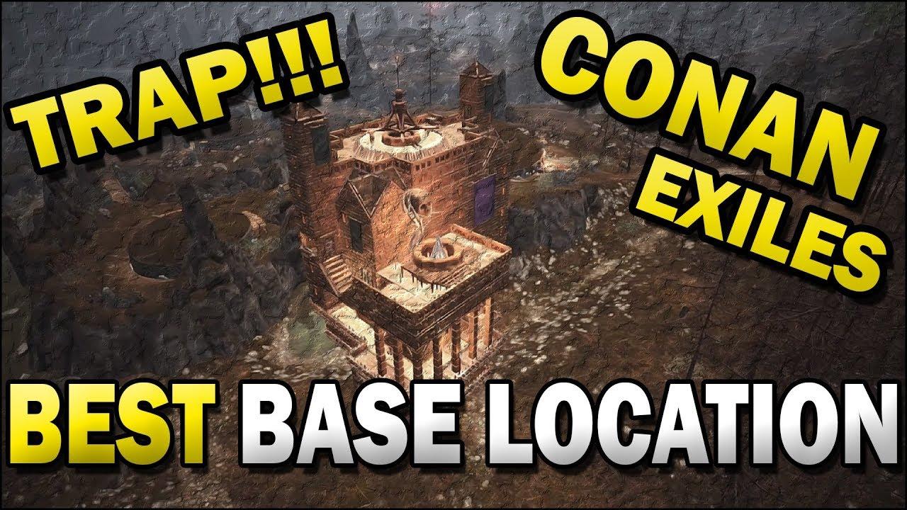 Conan Best Places To Build Base