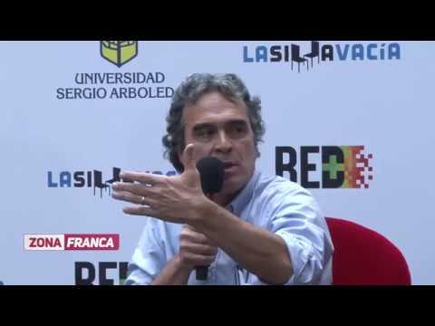 Sergio Fajardo Charladito en la Universidad Sergio Arboleda