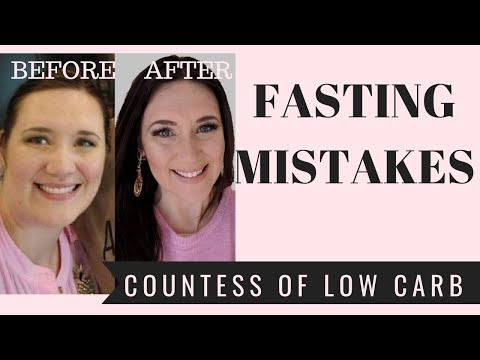 Intermittent Fasting Mistakes 👸 Weight Loss
