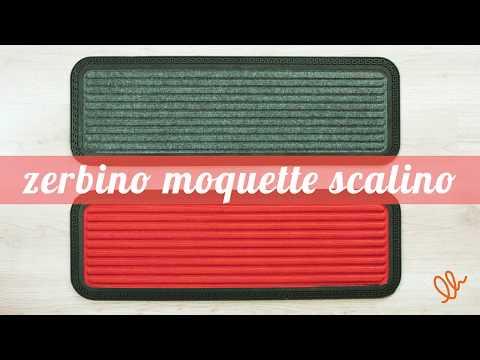 ZERBINO MOQUETTE SCALINO