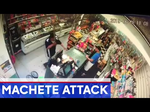 Cosmic Kev - Nutty: Homeless Man Arrested for Attacking Deli Worker With Machete (Video)
