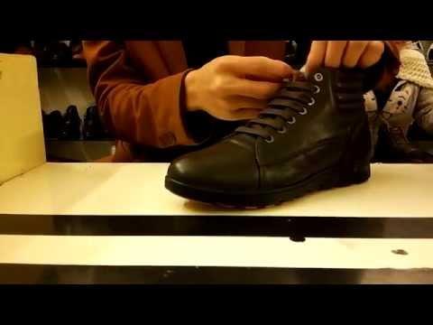 Cách buộc dây giày nam hình răng cưa đẹp nhất 2015