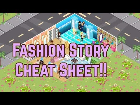 Fashion Story Cheat Sheet!?