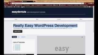 Wordpress Development Tutorials - pt 18: Advanced Custom Fields