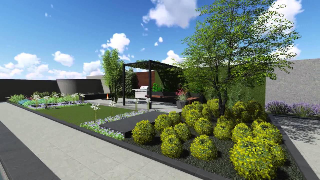 Villa Landscape design Dubai  YouTube