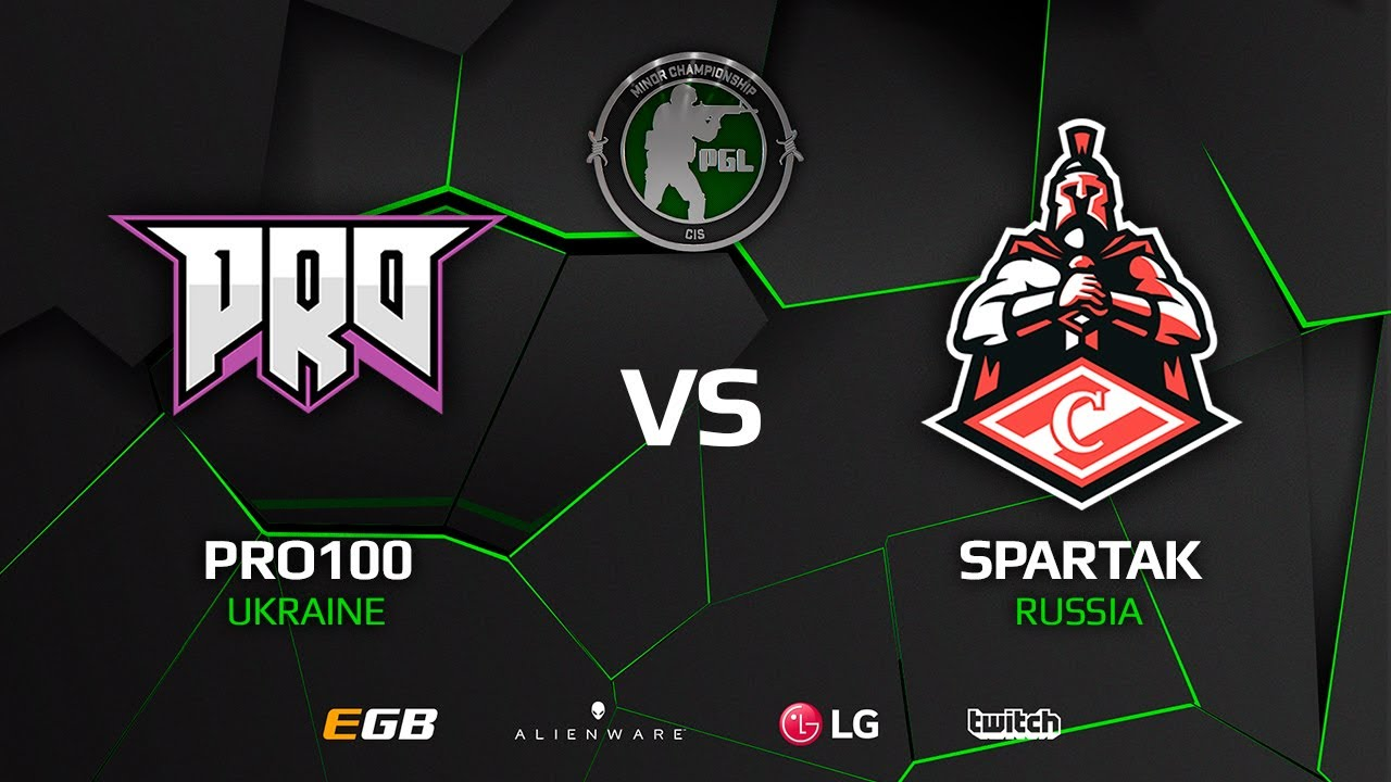[EN] pro100 vs Spartak, map 2 nuke, CIS Minor – PGL Major Krakow 2017