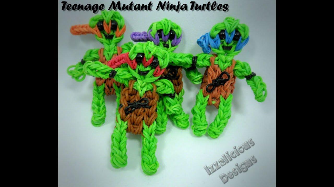 Rainbow Loom Teenage Mutant Ninja Turtles Action Figure ...