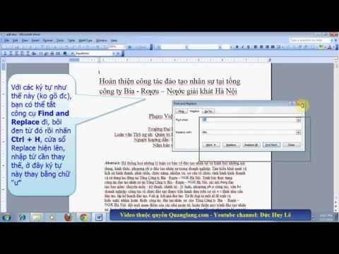Cách sửa file word bị lỗi font chữ sau khi chuyển đổi file, download