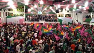 Mangueira Escola de Samba - Mangueira Samba School song competition, near Maracanã stadium