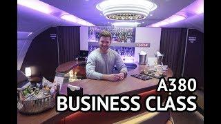 A380 BUSINESS CLASS - Qatar Airways